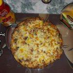 پیتزا تابه ای آزاده