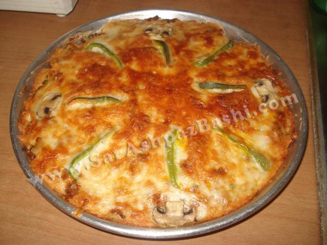 پیتزا تابه ای