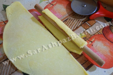 پیچیدن خمیر (2)
