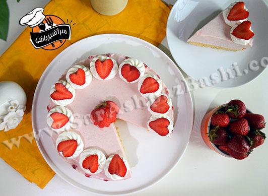 چیزکیک توت فرنگی (۶)