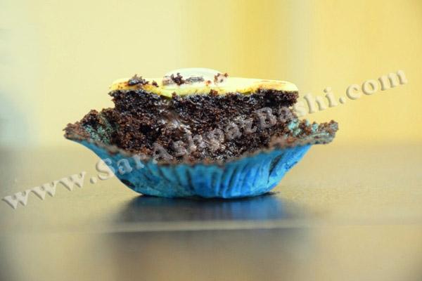 کاپ کیک شکلاتی مینیون