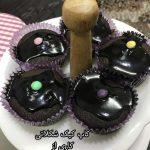 کاپ کیک شکلاتی هانیه