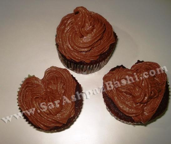 کاپ کیک شکلاتی5