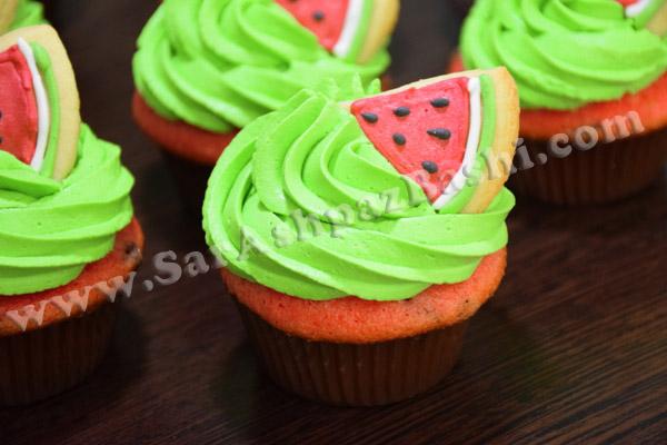 کاپ کیک هندوانه