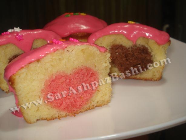 کاپ کیک ولنتاین