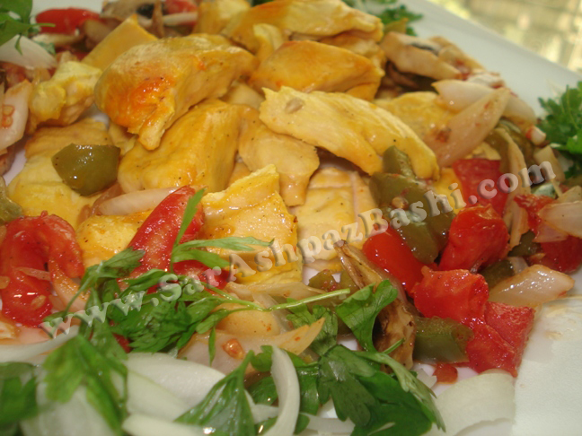کباب ترکی مرغ