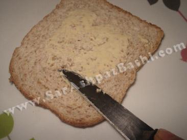 کره مالیدن به نان