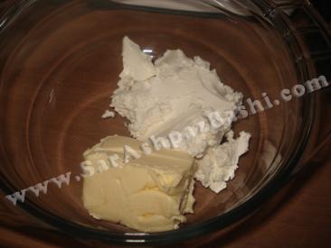 کره و پنیر خامه ای