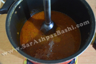 کوبیدن آب مرغ