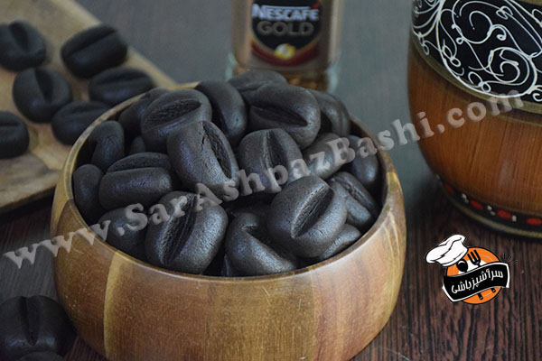 کوکی دانه قهوه (۴)
