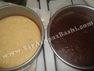 کیکهای پخته شده
