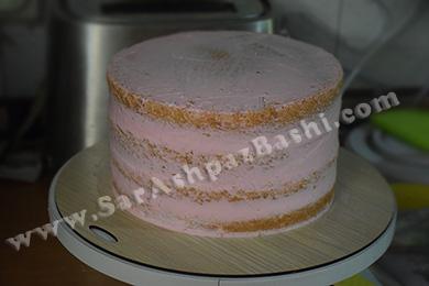 کیک آسترکشی شده
