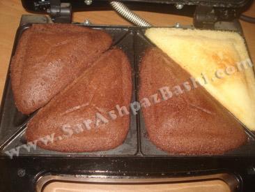 کیک آماده شده