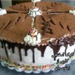 کیک اسفنجی زینب