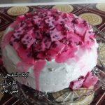 کیک اسفنجی عسلی متین