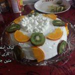 کیک اسفنجی متین