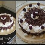 کیک بلک فارست شیما جان
