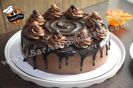 کیک تریپل چاکلت (۵)