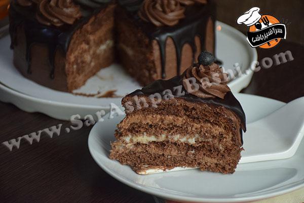 کیک تریپل چاکلت (۷)