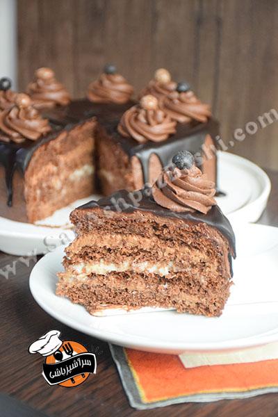 کیک تریپل چاکلت (۸)