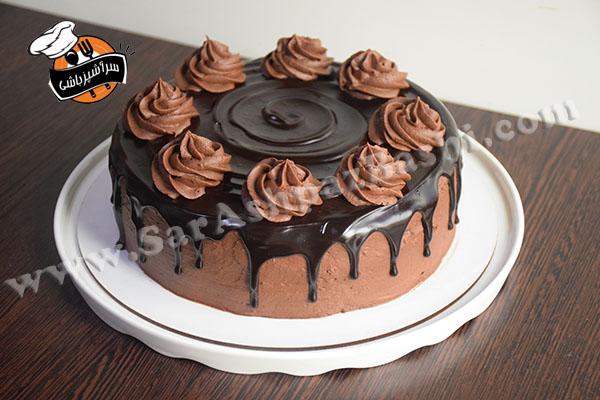 کیک تریپل چاکلت