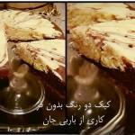 کیک دورنگ باربی3