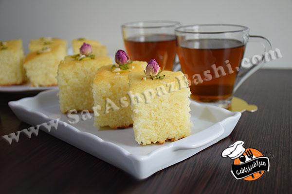 کیک سمولینا (۳)