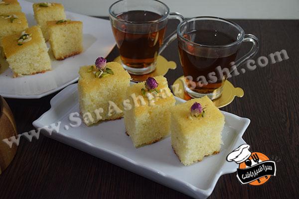 کیک سمولینا (۵)