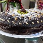 کیک شکلاتی فائزه جان