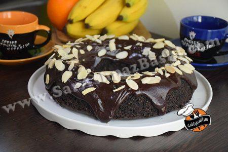 کیک شکلات و بادام
