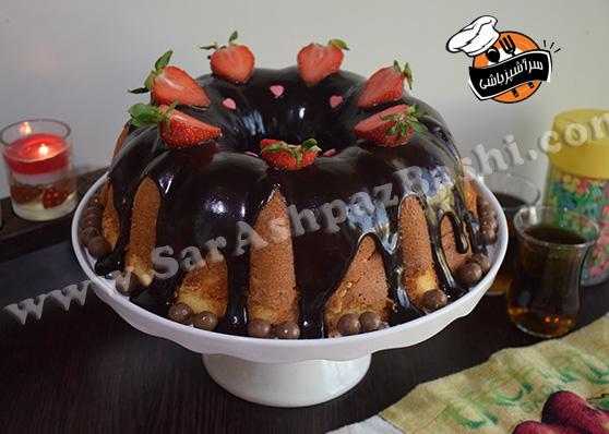 کیک شیر داغ (۲)