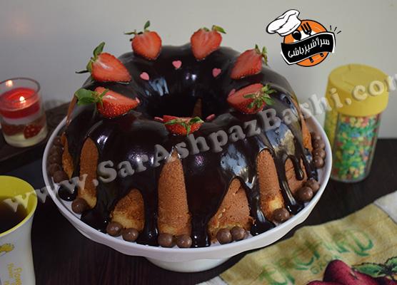 کیک شیر داغ (۳)