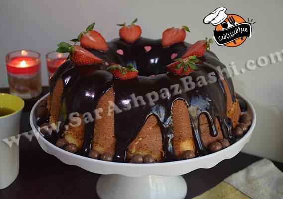 کیک شیر داغ (۴)