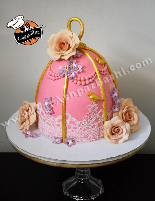 کیک قفس