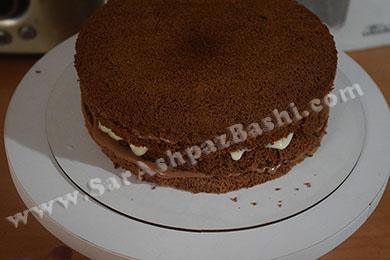 کیک لایه بندی شده