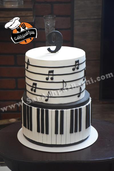 کیک پیانو