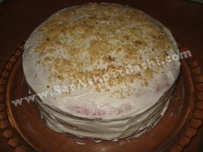 کیک کامل شده