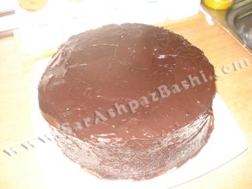 کیک کاور شده