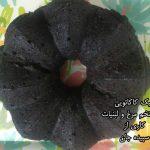 کیک کاکائویی بدون تخم مرغ و لبنیات سپیده