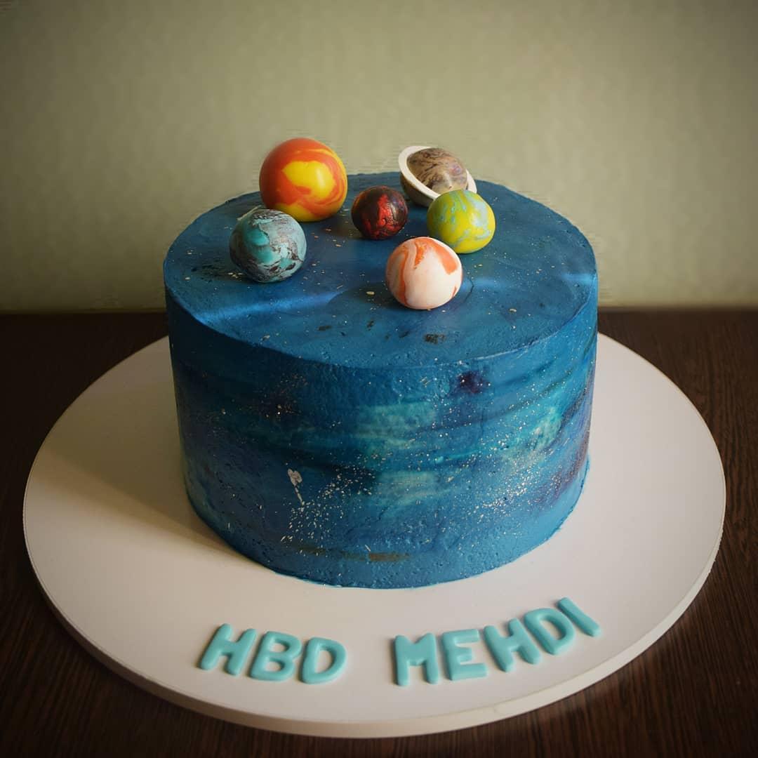 کیک کهکشان
