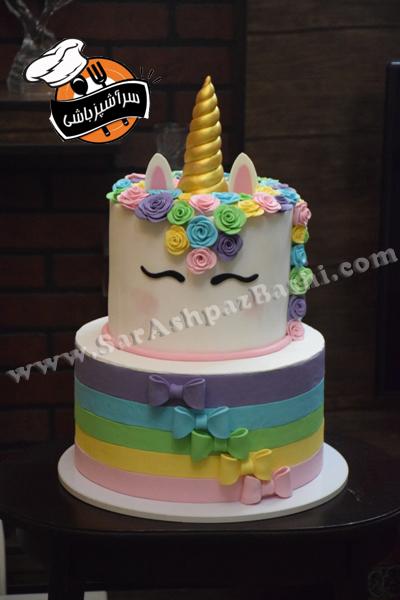 کیک یونیکورن