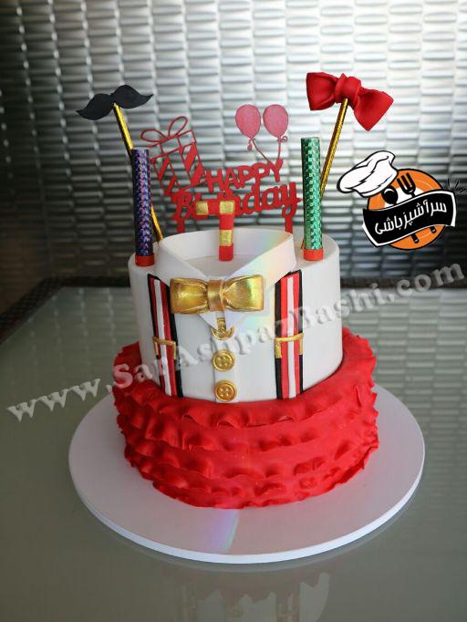 کیک تولد دختر و پسر