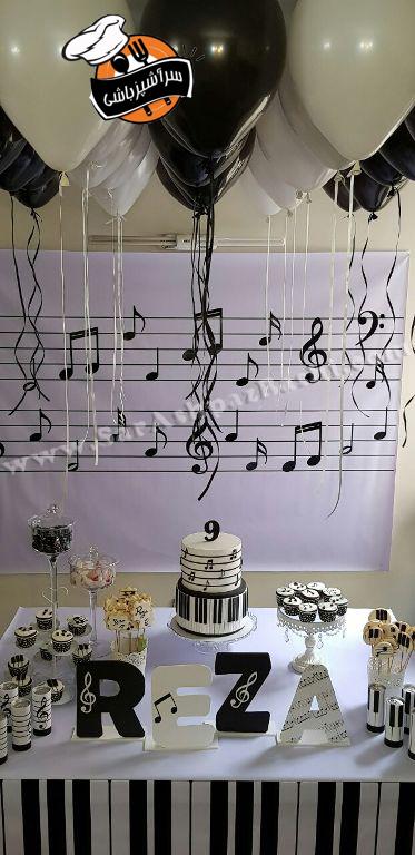 تولد با تم پیانو