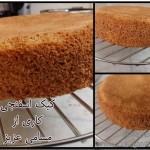 کیک اسفنجی مسامی