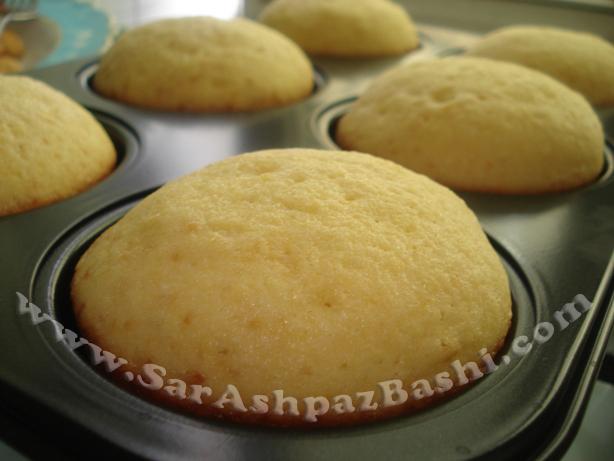 کاپ کیک وانیلی